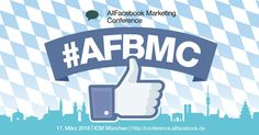 Updates zu Social Media und Facebook Marketing gefällig? Dann auf zur AFBMC 2016 nach München. Early Bird-Tickets gibt es noch bis zum 29. Januar, und mit unserem Code ROCKITAFBMC spart ihr zusätzlich 15%!