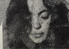 Adam Helms - Untitled (Mnemosyne), 2012  Charcoal on felt mounted to panel   121.9 x 171.5 x 5.7 cm--Amazing.