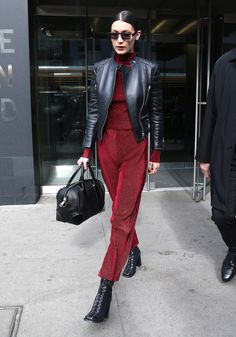 bella hadid stylish winter looks