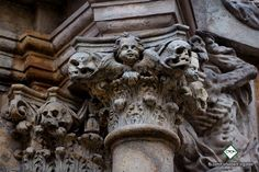 old baroque tomb