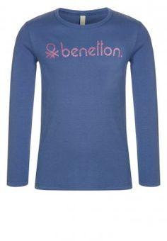 Benetton - Longsleeve - blue