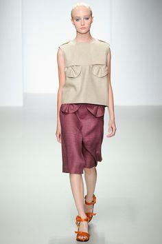 Emilio de la Morena Spring 2014 Ready-to-Wear Collection Slideshow on Style.com