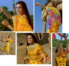 Curly Fries: BOLLYWOOD ISHTYLE: Preity's Taj Mahal Romance in 'Bol Na Halke Halke'