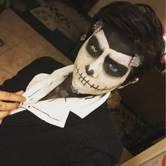 Handsome Jack Skellington! Rad mashup. #Borderlands
