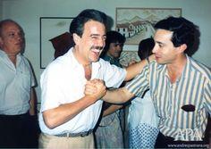 APA-1990 - Con Alvaro Uribe - Boston
