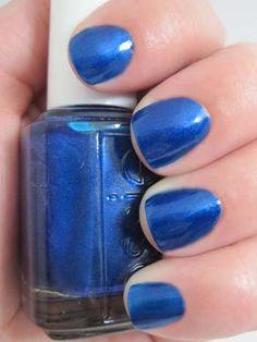 Essie - Aruba Blue. Wearing now and love!
