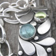 Jubilation in the Key of Green Bracelet Sterling by westbyron