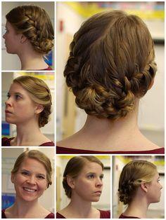Katniss Reaping Day hair #HungerGames