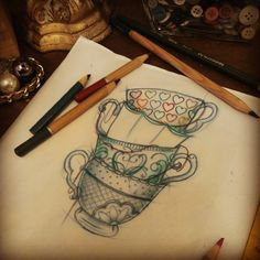tea cups for my alice sleeve?
