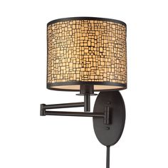 ELK Lighting 31048/1 Medina Collection Oil Rubbed Bronze Finish