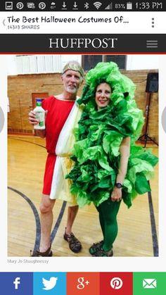 Cedar salad costume