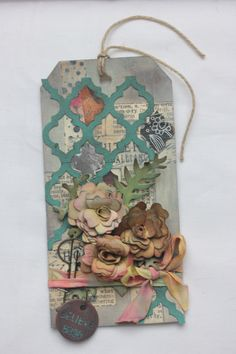 Created by Helena Clulee. Homage to Tim Holtz