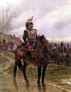 French Cuirassier, Franco-Prussian War
