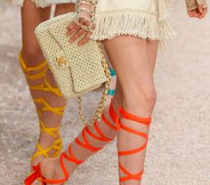 Your First Look at Chanel's Cruise 2018 Bags, Straight from the Ancient Greece-Inspired Runway