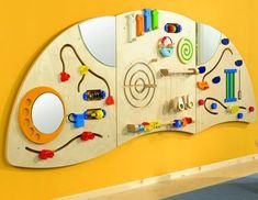 Haba 3 Piece Panel Learning Wall Toy
