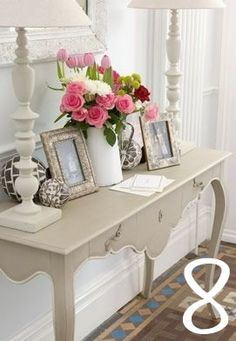 Beautiful Entry Table Decor Ideas to give some inspiration on updating your house or adding fresh and new furniture and decoration. Sweet Home, Entry Tables, Entrance Table, Console Tables, Foyer Decorating, Decorating Ideas, Home And Deco, Decoration Table, Entryway Decor