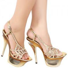 Sepatu High Heels Nancia Emas IDR425.000 SKU Ninetynine 8586 Size 36-40 heels 12 cm  Hubungi Customer Service kami untuk pemesanan : Phone / Whatsapp : 089624618831 Line: Slightshoes Email : order@slightshop.com