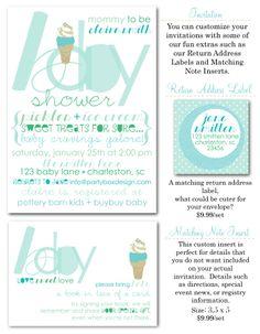 boy baby shower, baby shower invites, baby cravings, baby craving shower, baby cravings shower invites via Party Box Design