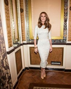 ❤️ Celine Dion, Celine 2016, Madame Tussauds, I Feel Pretty, Celebs, Celebrities, Classy And Fabulous, Dress Codes, Dresses For Work