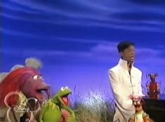 The Muppets' special guest (also known as The Artist Formerly Known as Prince) visits the show...