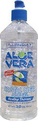 Fruit of the Earth Aloe Vera Crystal Clear Gel 20 oz Gel - Swanson Health Products