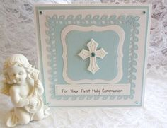 First Communion Card    for girl or boy religious by cardsmiles, $4.50