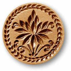 Springerle cookie mold - best Christmas cookies ever, and the intricate molds are amazing.