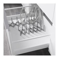 Gewürzdosen Ikea variera insert for spice jars high gloss white jar drawers and
