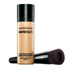 Bare Minerals Bareskin Pure Brightening Serum Foundation http://www.womenshealthmag.com/beauty/best-foundations-oily-skin/bare-minerals-bareskin-pure-brightening-serum-foundation