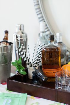 Equestrian style decorating inspiration featuring vintage horse tack items and products from Rebecca Ray Designs, Pottery Barn, etsy, Restoration Hardware Bulleit Bourbon, Rye Bourbon, Horse Racing Party, Barn Living, Derby Day, Vintage Horse, Equestrian Style, Festival Party, Kentucky Derby