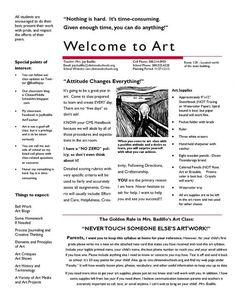 Clinton Middle School - Art Syllabus