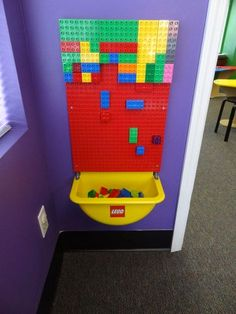 22 Little Boys Room Project with a Lego Wall Style Toy Rooms Boys Lego Project R. 22 Little Boys Room Project with a Lego Wall Style Toy Rooms Boys Lego Project Room Style wall Little Boys Rooms, Little Boy Bedroom Ideas, Sensory Wall, Sensory Rooms, Sensory Boards, Lego Wall, Lego Projects, Toy Rooms, Legos
