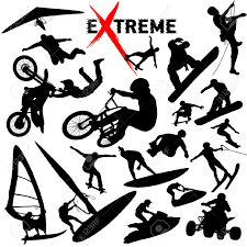 Illustration about Vector eXtreme sport - silhouettes. Illustration of risk, climbing, hang - 5074027 Adrenaline Sports, E Coupons, Sports Clips, Dangerous Games, Closer To The Sun, Silhouette Vector, Extreme Sports, Color Change, Illustration
