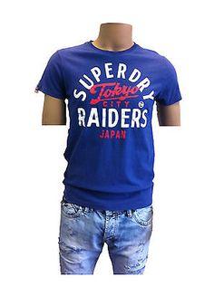 Superdry T-Shirt  Raiders Tee Blue  011 S M L XL
