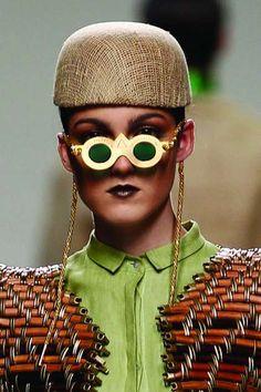 The Sayat Nova Spring/Summer 2012 Collection is Eccentric #sunglasses