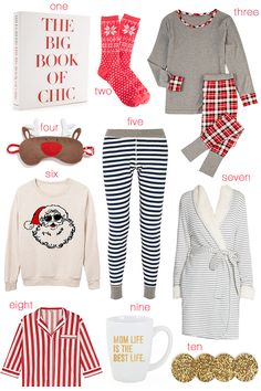 Christmas cozy wishlist