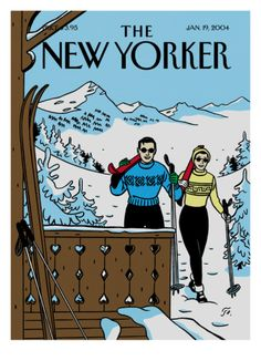 The New Yorker Cover - January 19, 2004 Giclee Print by Jean Claude Floc'h at Art.com