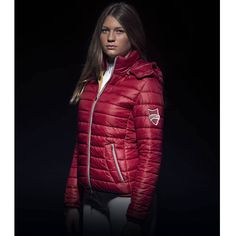 A warm, vibrant and stylish jacket that will ensure you are the envy of your friends. The Animo Lobby Padded Ladies Bomber Jacket features a soft padding through the jacket for exceptional warmth. Stylish Jackets, Equestrian, Casual Outfits, Bomber Jacket, Winter Jackets, 21st Century, Lady, Universe, Autumn