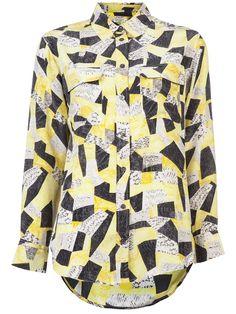 #equipment silk blouse