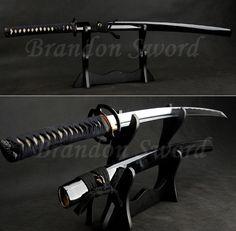 Samurai Weapons, Ninja Weapons, Katana Swords, Samurai Art, Samurai Warrior, Japanese Blades, Japanese Sword, Swords And Daggers, Knives And Swords