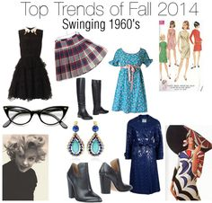 Swinging 60's Fall 2014 trends FINALLY ! Vintage is ALWASYS IN STYLE