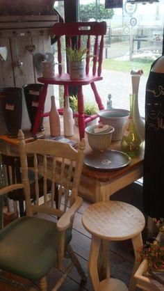 Love chalkpaint by Annie Sloan, leuk hoekje in de winkel.