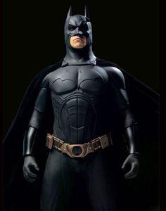 Batman(Christian Bale)(Batman Begins) Evil Batman, I Am Batman, Batman Begins, The Dark Knight Trilogy, The Dark Knight Rises, Batman The Dark Knight, Dc Comics, Batman Comics, Sculpter Son Corps