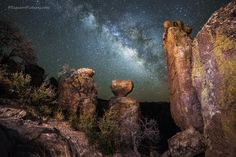 The Chiricahuas at Night by Greg McCown on 500px