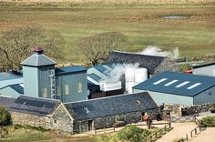 Kilchoman Distillery from above, Isle of Islay