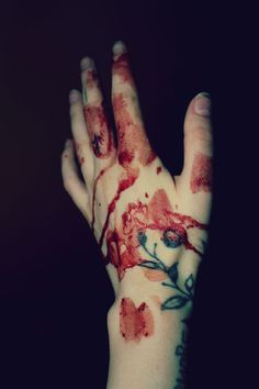 you bleed roses