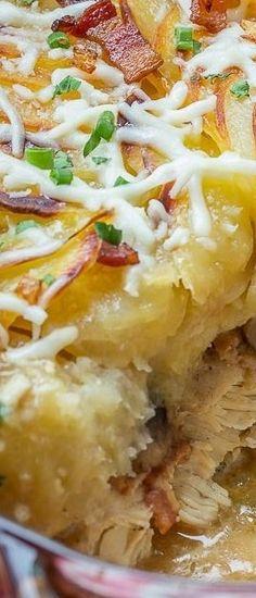 Chicken Mushroom & Potato Casserole Let the Baking Begin!