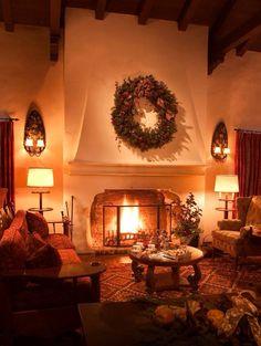 Arizona Inn, Tucson AZ At Christmas