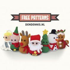 Free amigurumi christmas patterns