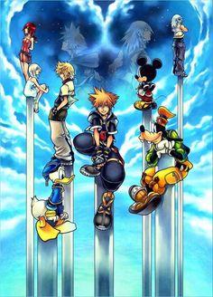 Kingdom Hearts Fan Fic [Reader x Sora] Kingdom Hearts Ii, Kingdom Hearts Games, Kingdom Hearts Tattoo, Final Fantasy, Disney Pixar, Disney Magic, Kindom Hearts, Video Game Art, Video Games